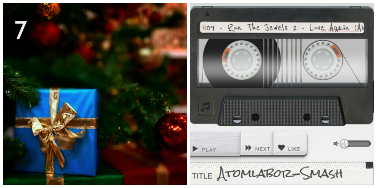 ATOMLABOR ADVENTSKALENDER - TÜRCHEN NR.7 - Stream Tape