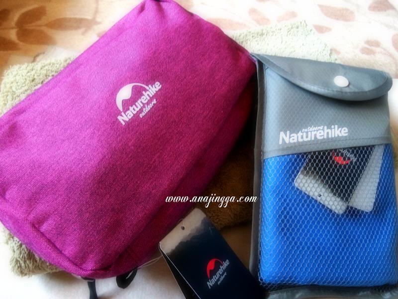 Jimatkan Ruang Penyimpanan Beg Dengan Naturehike Travel Bag & Towel