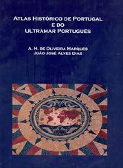 Capa de Atlas Histórico de Portugal