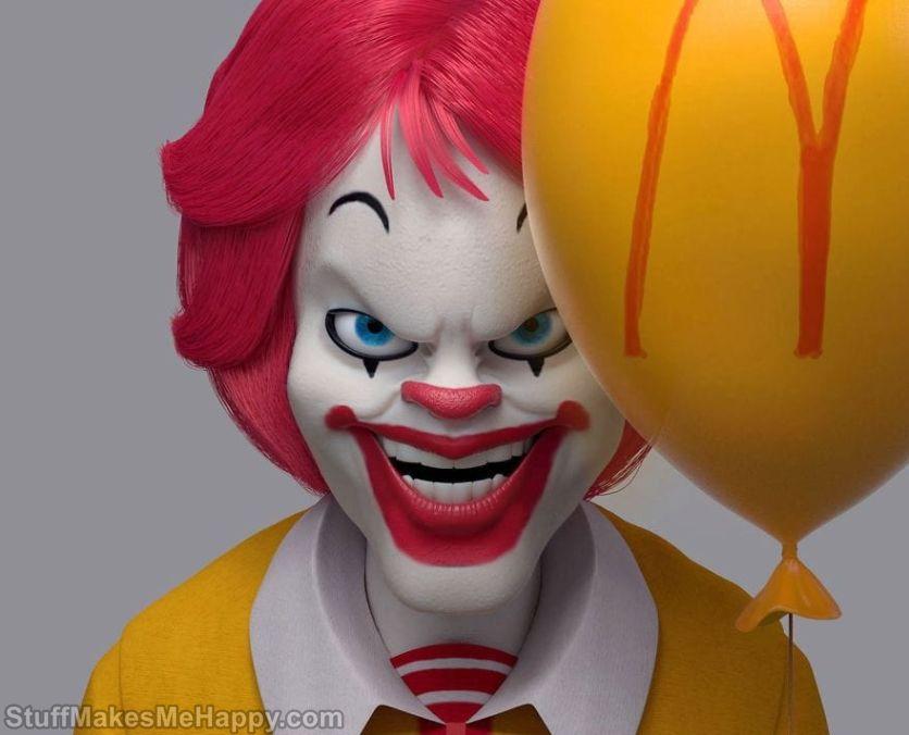 1. Ronald McDonald