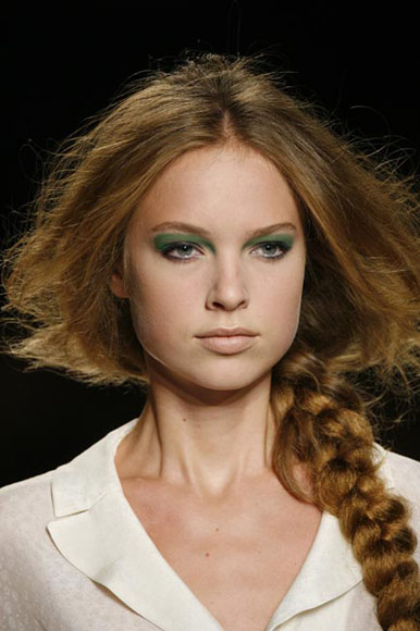 Peinados con trenzas modernas 2012 peinados de moda - Peinados de trenzas modernas ...