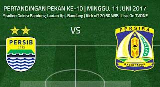 Prediksi Persib Bandung vs Persiba Balikpapan 11 Juni 2017