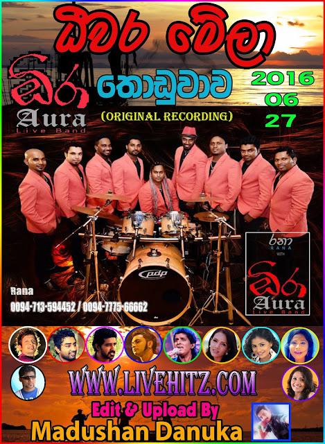 RANA WITH AURA LIVE DEEWARA MELA IN THODUWAWA 2016-06-27