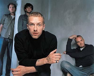 Foto de Coldplay más jóvenes en sesión fotográfica