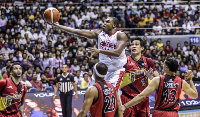 Justin Brownlee, gave Barangay Ginebra another title
