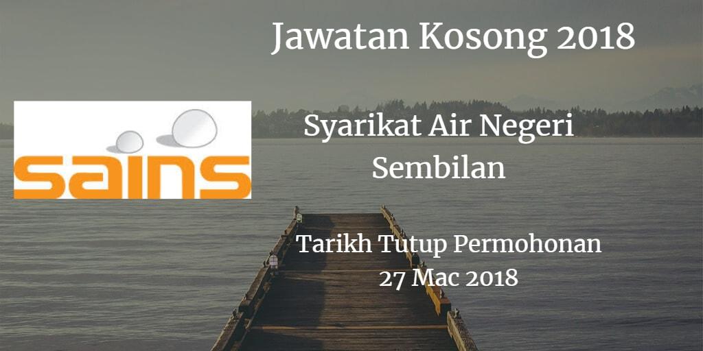 Jawatan Kosong SAINS 27 Mac 2018