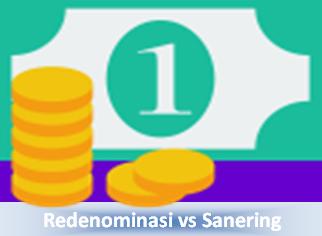 Perbedaan Redenominasi dan Sanering