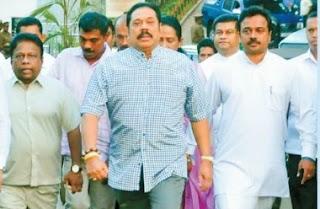 Mahinda Rajapaksa visits Wimal