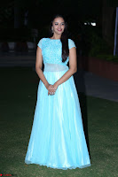 Pujita Ponnada in transparent sky blue dress at Darshakudu pre release ~  Exclusive Celebrities Galleries 137.JPG