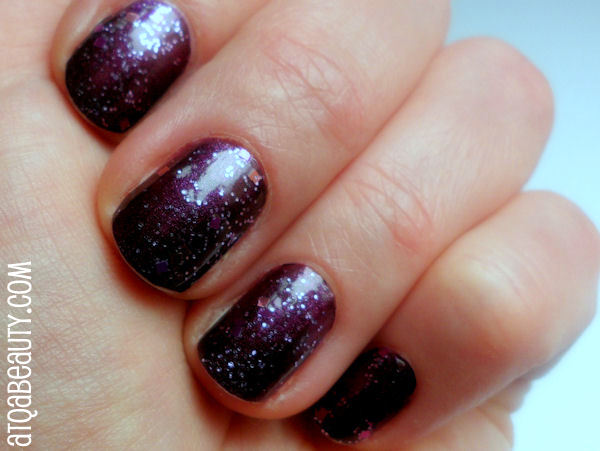 Essence, Vampire's Love, 03 True Love + Essence, Nail Art, Special Effect! Topper, 01 It's Purplicious