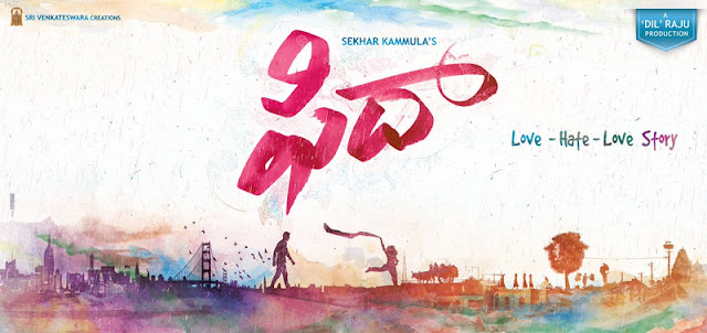 fidaa movie first look poster