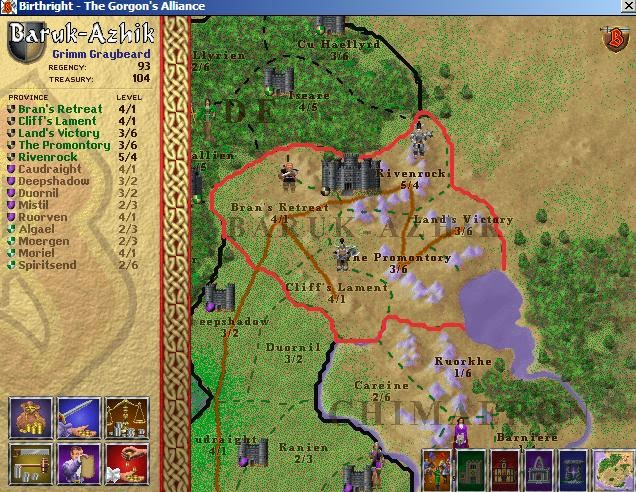 Alliance Birthright Gorgon S