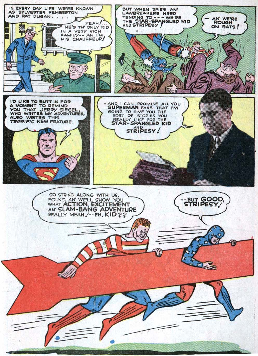 Read online Action Comics (1938) comic -  Issue #40 - 55