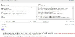 Cara Posting Source Code di Blogspot
