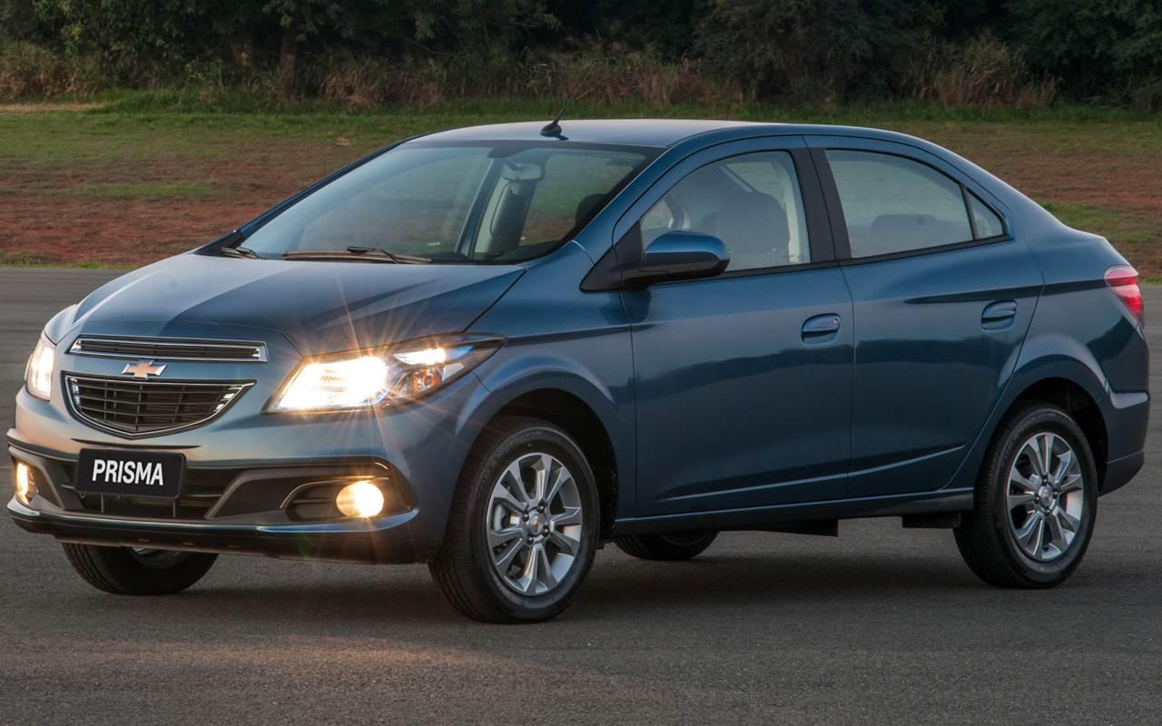 Chevrolet Prisma - sedã mais vendido do Brasil