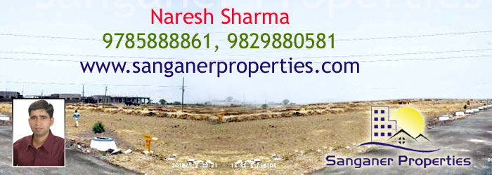 Commercial Land in Pratap Nagar Near Sanganer