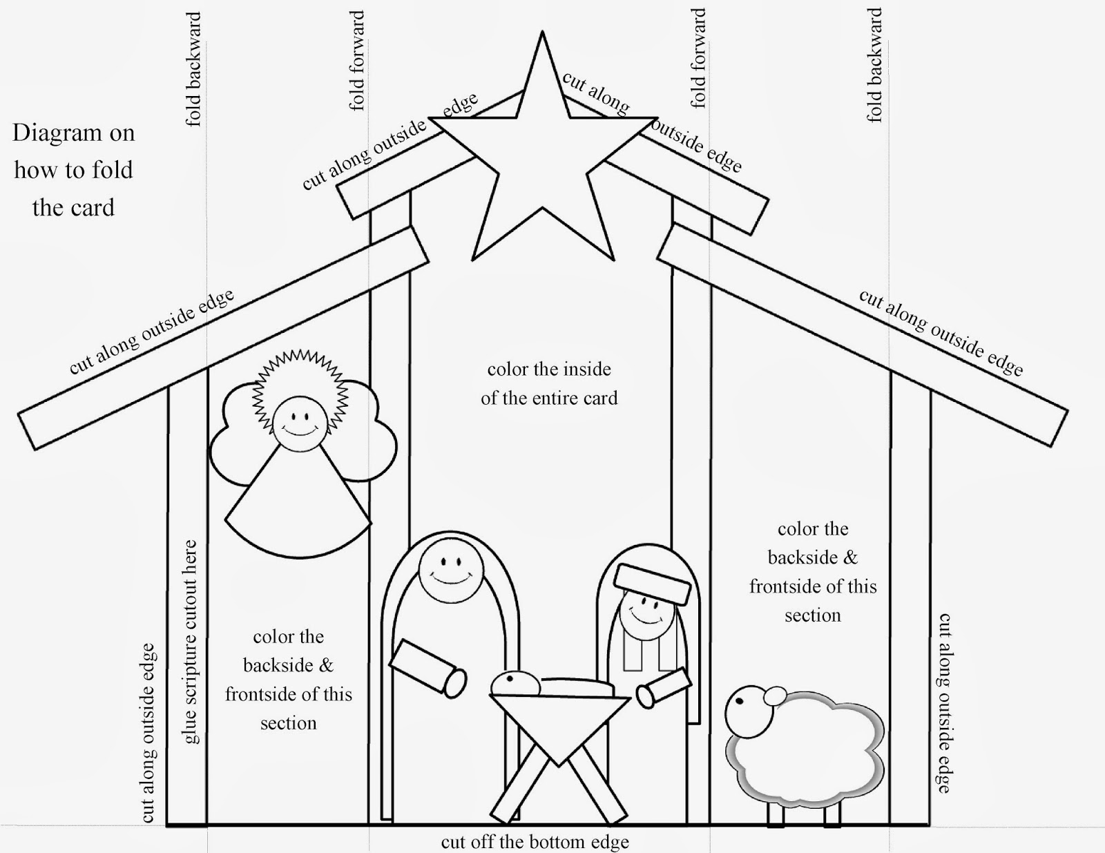 Free Coloring Pages Of Picture Of Stable