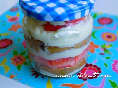 cara membuat tiramisu cake in a jar