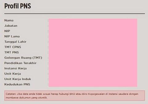 Cek Kenaikan Pangkat/Golongan Periode Oktober di Profil PNS www.bkn.go.id