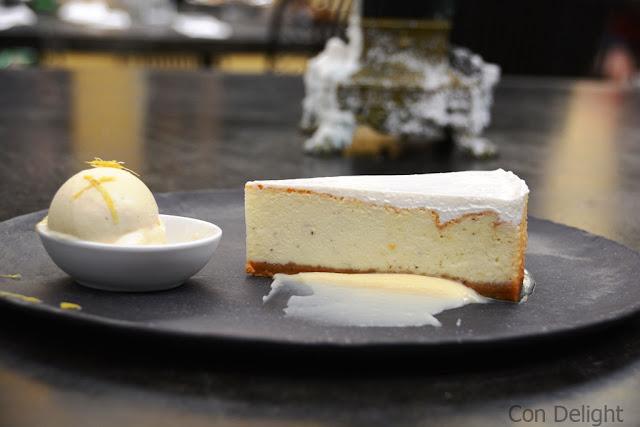עוגת גבינה קפה ג'ו cheesecake