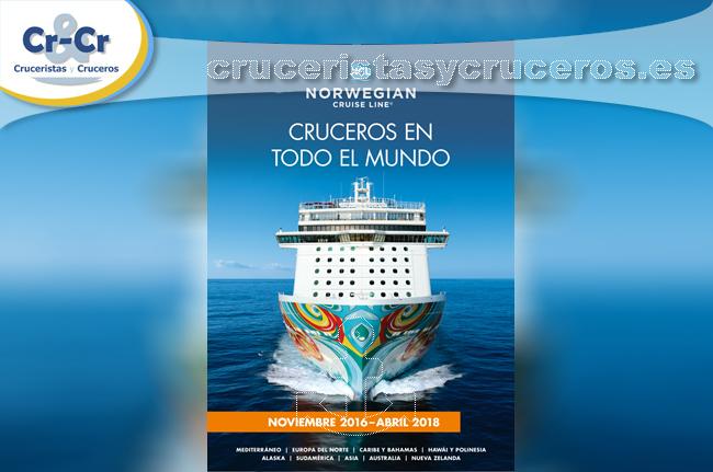► Norwegian Cruise Line presenta su nuevo catálogo.