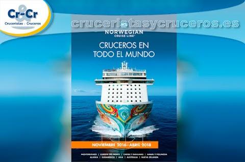 Norwegian Cruise Line presenta su nuevo catálogo.