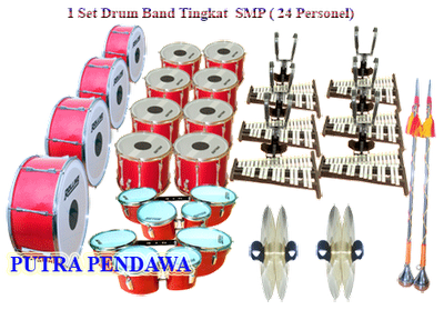 DRUM BAND SMP PAKET 24 PERSONEL