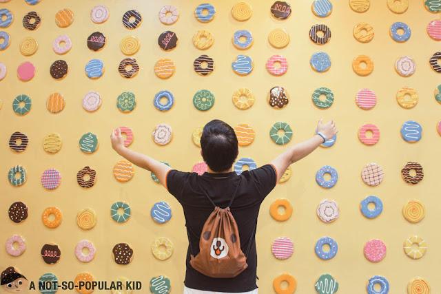 Emil Ong in Donut Room - Dessert Museum