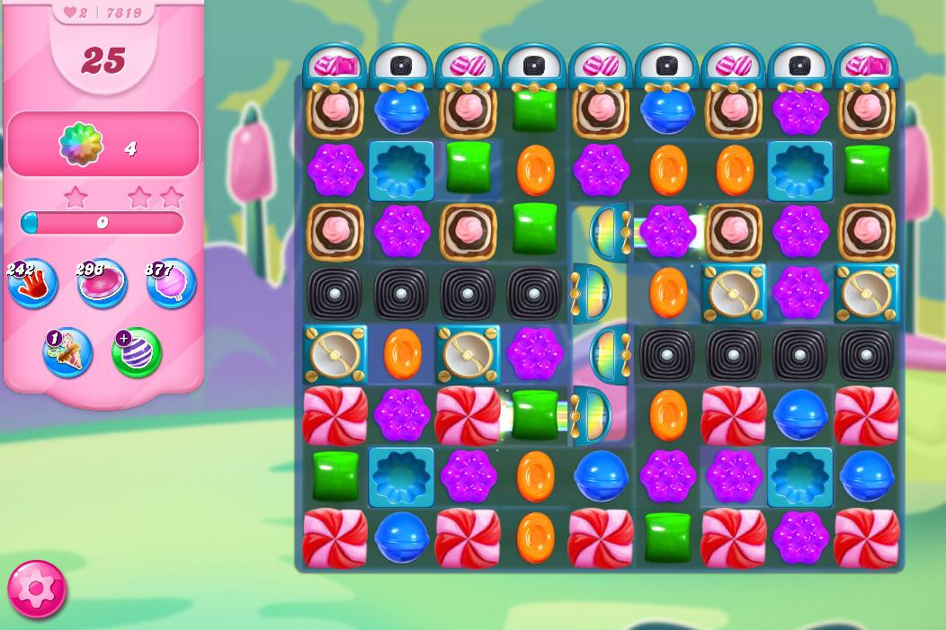 Candy Crush Saga level 7819