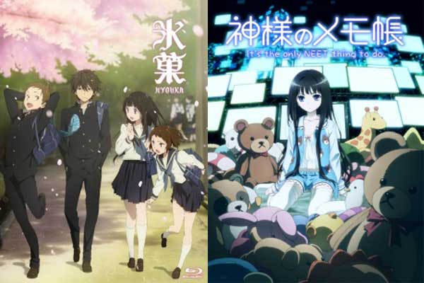 Anime yang mirip dengan hyouka -  Kamisama no Memochou