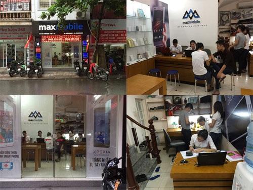 MaxMobile sửa chữa thiết bị di động cho khách hàng