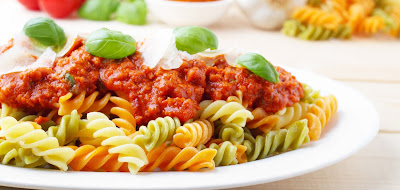Bahan-Bahan yang di butuhkan untuk Membuat Spaghetti Macaroni Bolognise