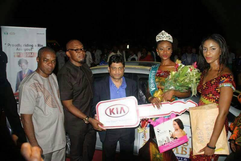 Chidinma Okeke gets back her 2015 Miss Anambra official car under agreement