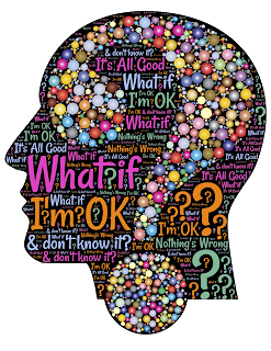 graphic with many different phrases asking, what if?