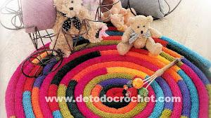 Alfombra Redondita al Crochet / Paso a paso