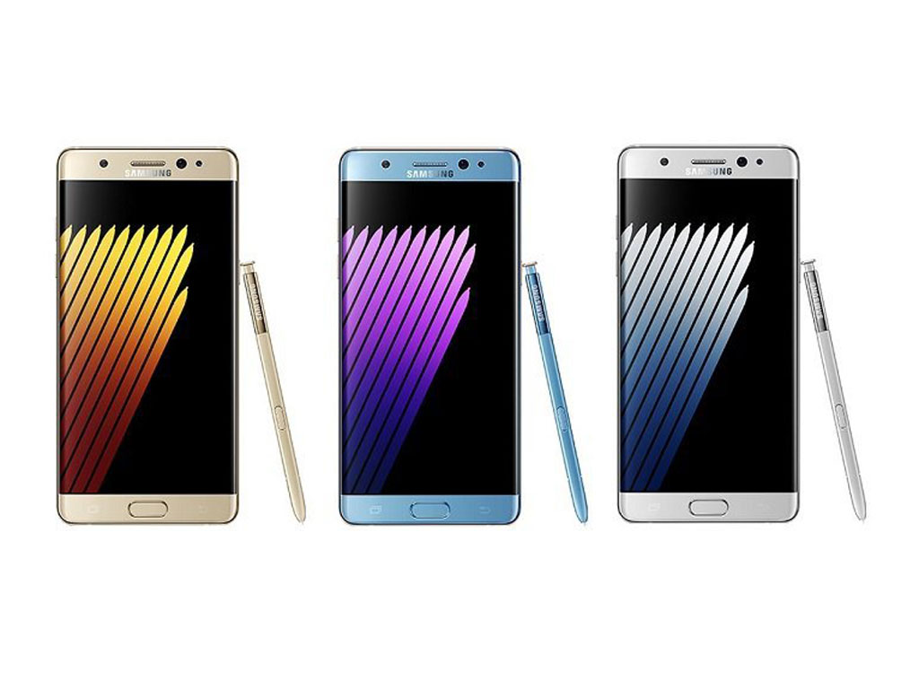 Samsung Galaxy Note 7 Front