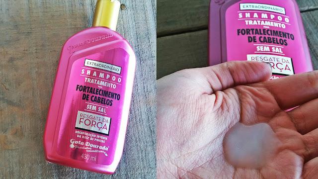 Resenha: Shampoo e Condicionador Regaste da Força