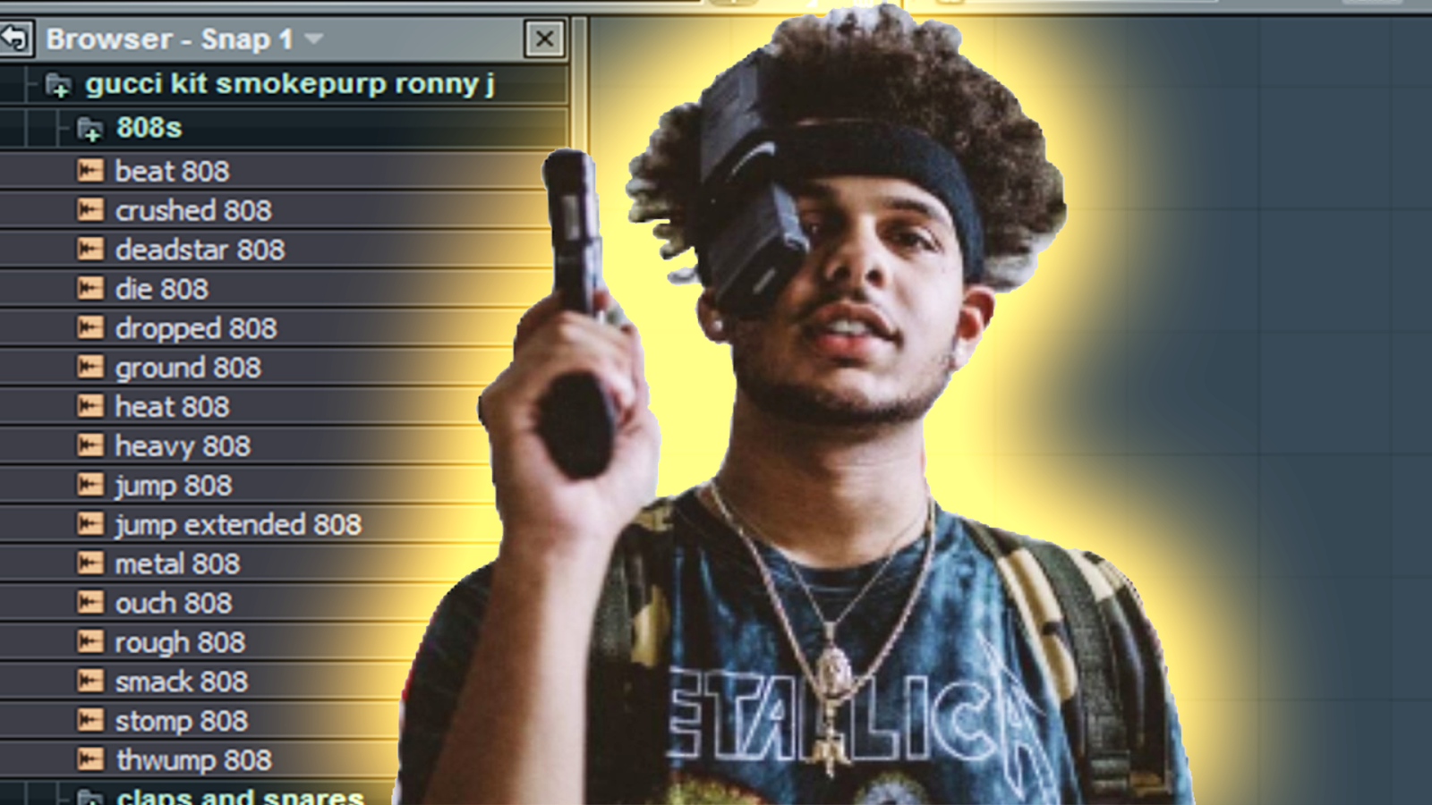 Producers Planet: dope smokepurpp/ronny j type drums for free