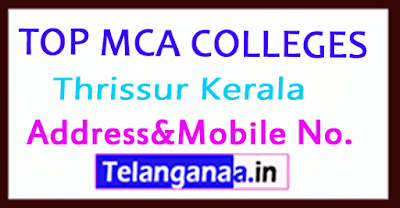 Top MCA Colleges in Thrissur Kerala