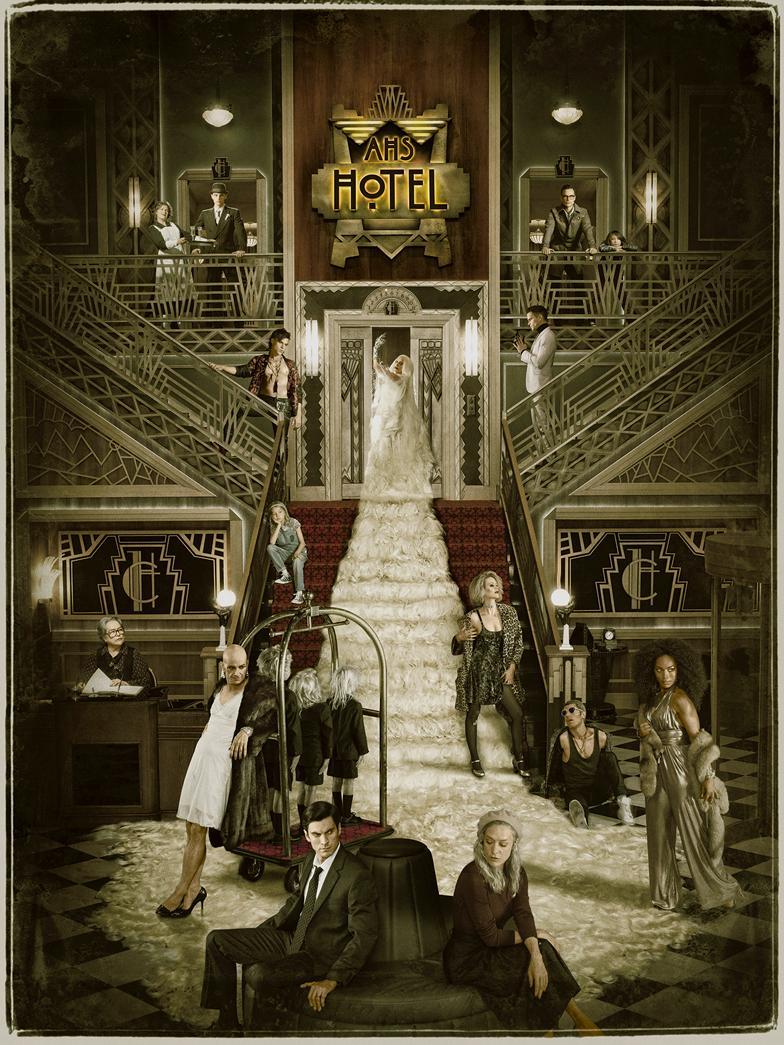 American Horror Story: Hotel [Season 5] [2015] [DVD9] [NTSC] [Latino]
