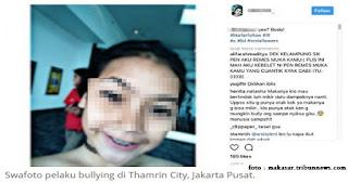 Miris! Siswa Pelaku Bully di Thamrin City Unggah Foto Seperti sedang Tidak Memakai Busana