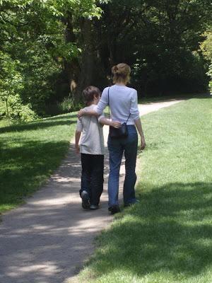 walking through seattle gardens