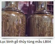 Lọ lục bình gỗ đẹp - Lộc bình gỗ 4