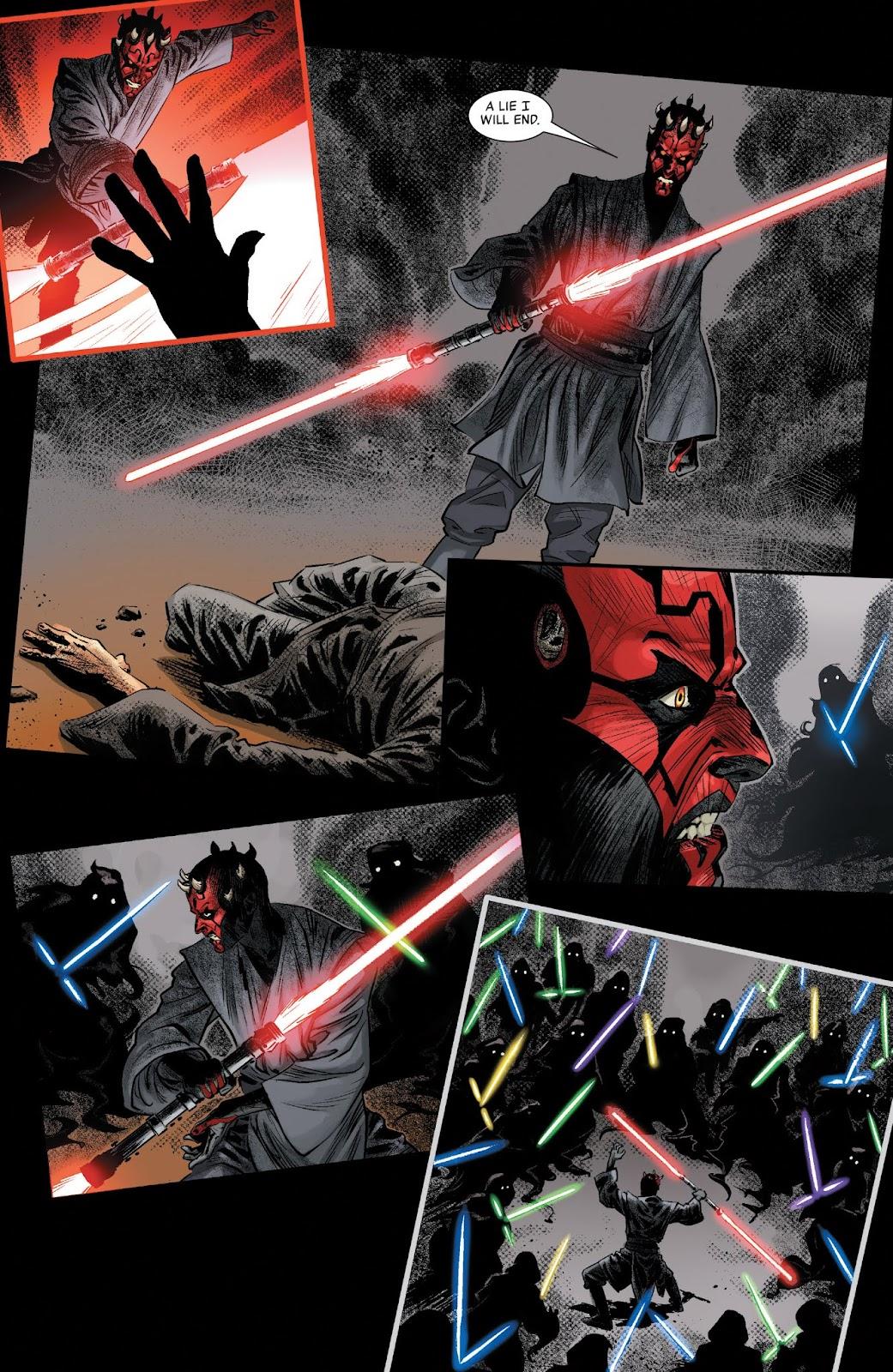 Read online Star Wars: Age of Republic - Darth Maul comic -  Issue # Full - 20