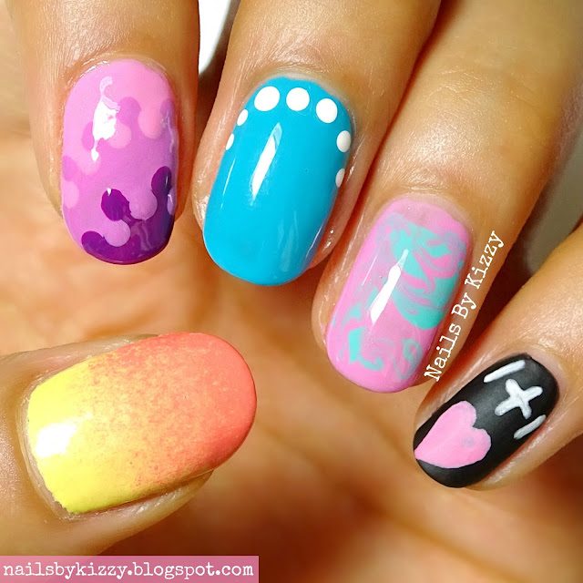 Nails By Kizzy: 5 Easy Back To School Nail Designs! (+ Tutorial)