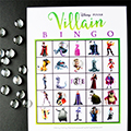 Disney Villains Bingo