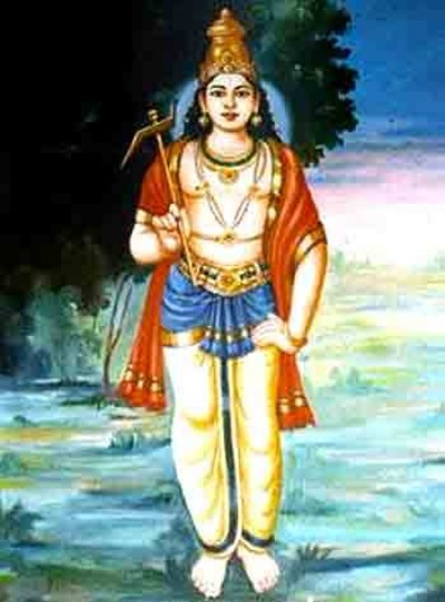 Hindu lord balarama image border=