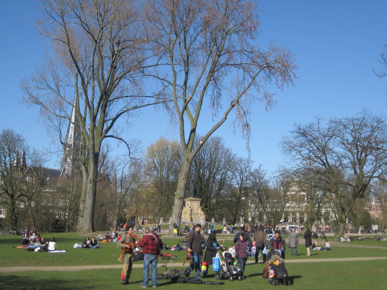 Spring in Vondel Park