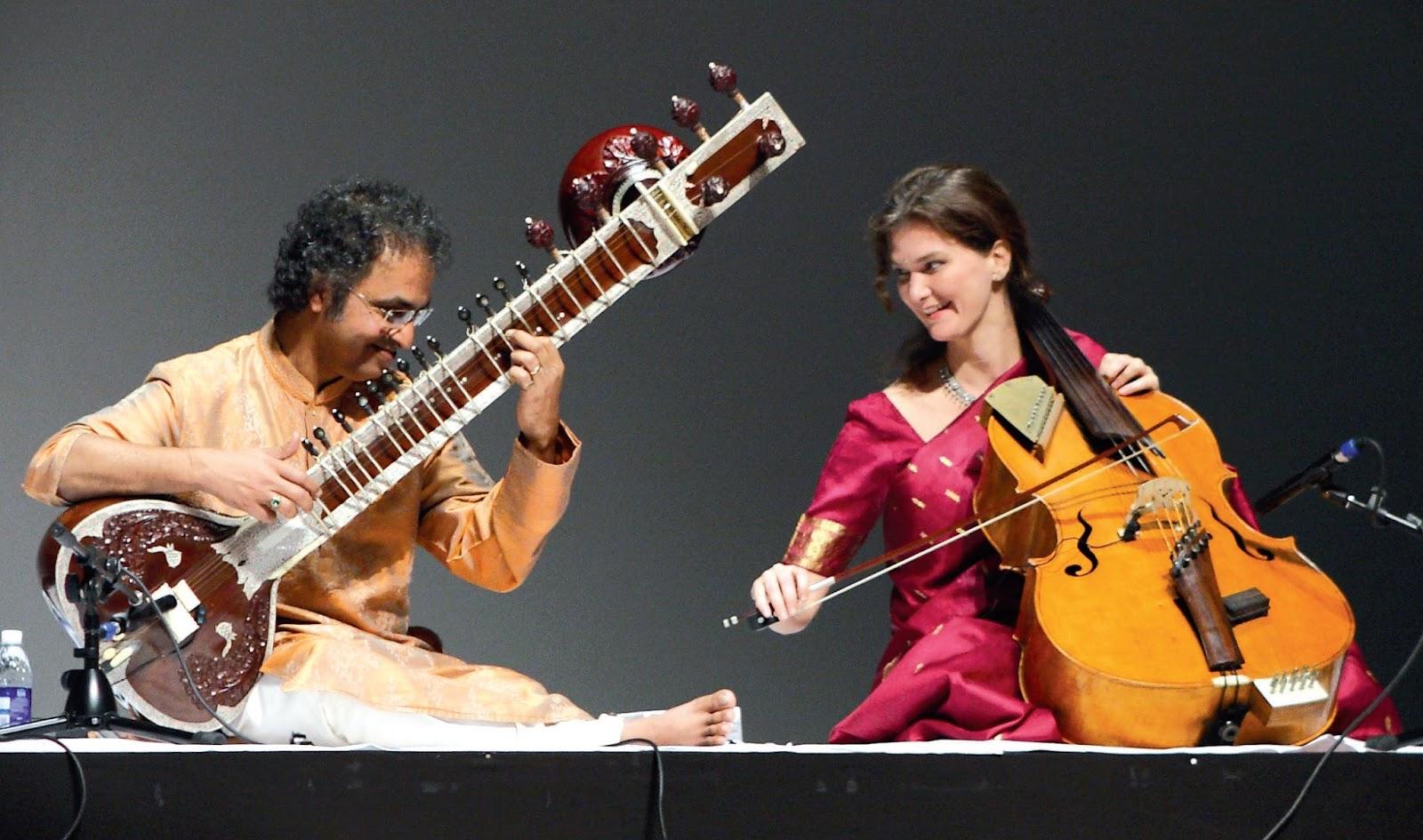 music hindustani cellist classical indian north sruti rao western saskia haas