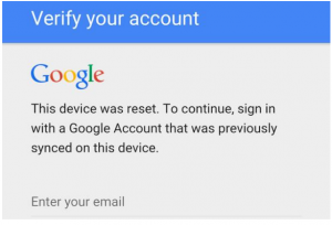 How to reset Android 5. and above google sign in